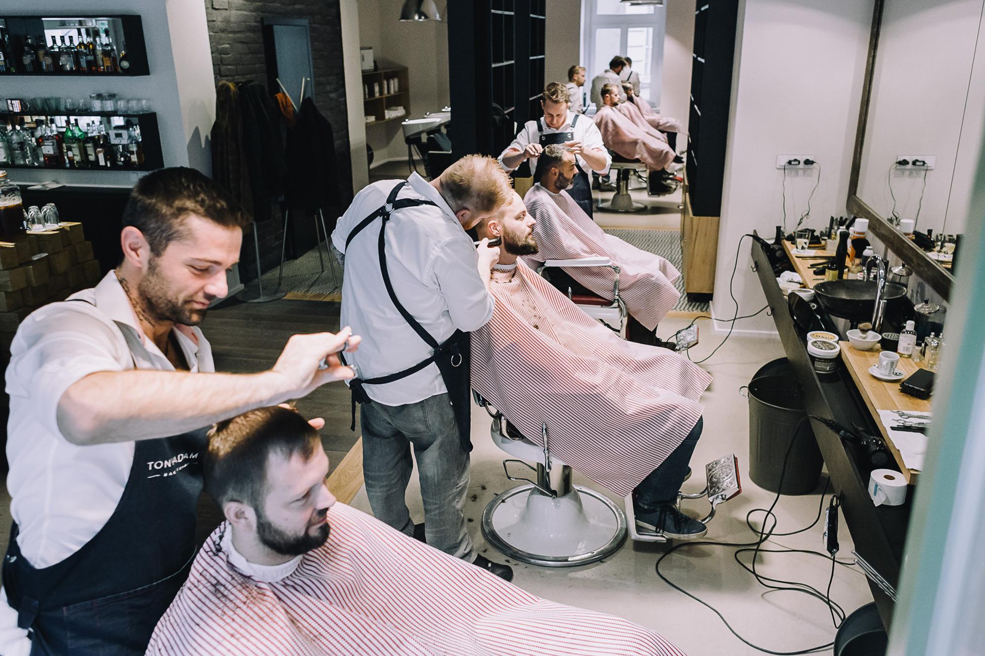 Image result for gold barbers prague